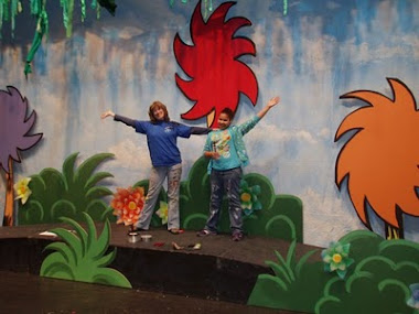 Seussical Sets Truffula Trees