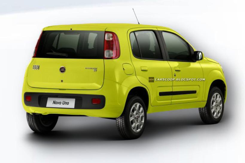 Novo Fiat Uno 2011. Novo Fiat Uno 2011