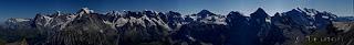 eiger monch jungfrau panorama
