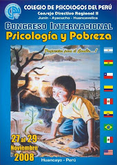 Congreso Internacional Psicologa y Pobreza