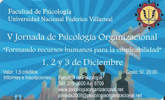 V Jornada de Psicología Organizacional