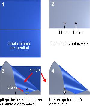 pasos para hacer una cometa muy facilita