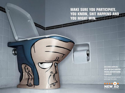 funny ad. Funny Ad by New Ad Bathroom