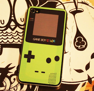 iphone 4 sticker gameboy