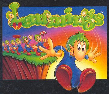 Lemmings game jumping off a cliff - photo#1