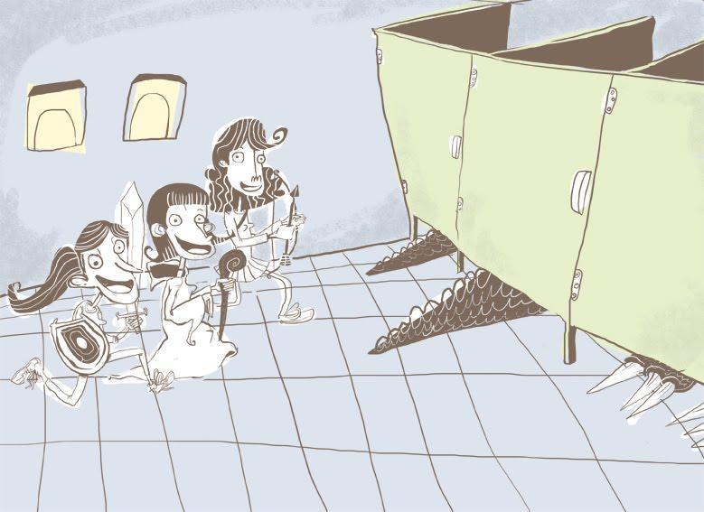 Imagenes Que Indiquen Baño De Mujeres:Pastillas De Apocaliptus: ¿Por que las mujeres van en grupo al baño?