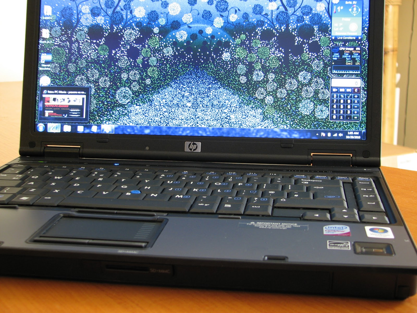 hp compaq 6910p drivers windows 10 64 bit