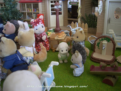 Sylvanian families old bakery shop