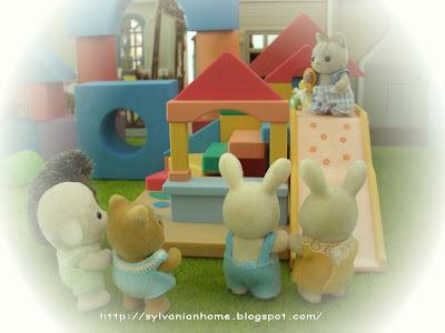 Sylvanian families playground