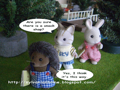 sylvanian families strip cat brother