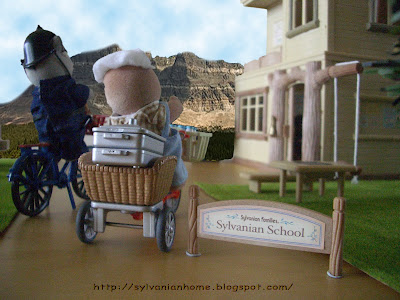 sylvanian families school view