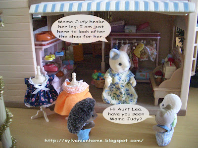 sylvanian families sewing set