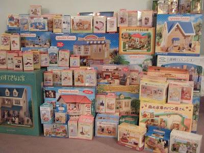 sylvanian families collectors