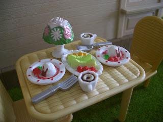 Sylvanian families dessert