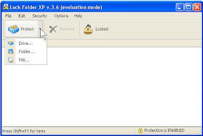 Memproteksi file folder drive komputer secara aman