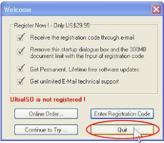 Cara burning cd dengan program UltraISO - membakar cd demngan UltraISO