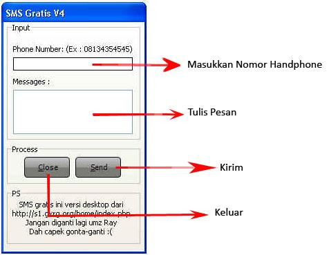 SMS sambil internetan versi terbaru