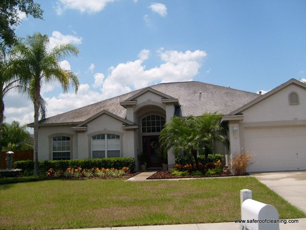 Amazing Here Are Just A Few Tampa Roof Cleaning Pictures Of Hunters Green Homes We  Have Done.