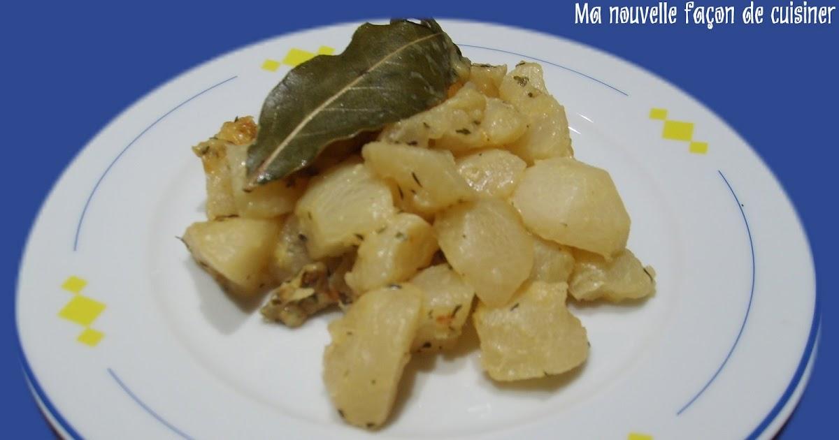 ma nouvelle façon de cuisiner: navets à la moutarde - 1 pt