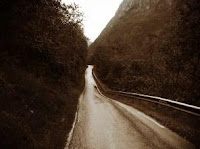 An old road. Decorative picture only.