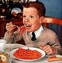 Mamá cuando termine mi sopa puedo ver a jerry foster??
