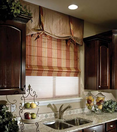 Window treatments roman shades 2017 grasscloth wallpaper for Roman shades for wide windows