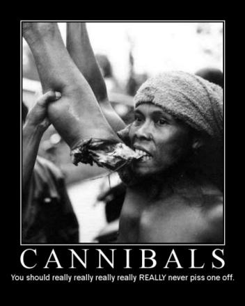 Hilarious Jokes - Cannibals