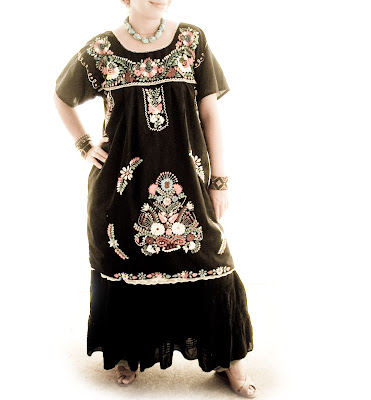 Tunic Dress on Peasant Blouses And Finely Embroidered Dresses