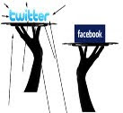 cara update status facebook melalui twitter, menghubungkan facebook dengan twitter, trik facebook, trik twitter, trick