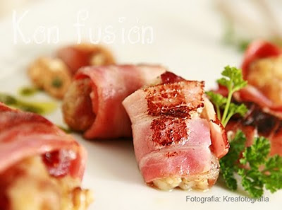 BOCADO BRIE NUECES DATILES BACON