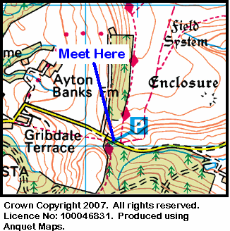 Map of Gribdale Gate area