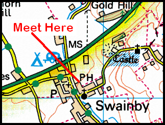Black Horse, Swainby Map