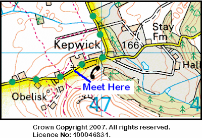 Map of Kepwich area