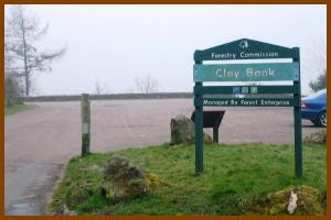 Photograph of Clay Bank car Park
