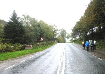 The B1257 road