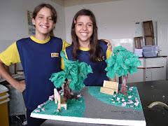 Kamile e Letícia, Paisagismo