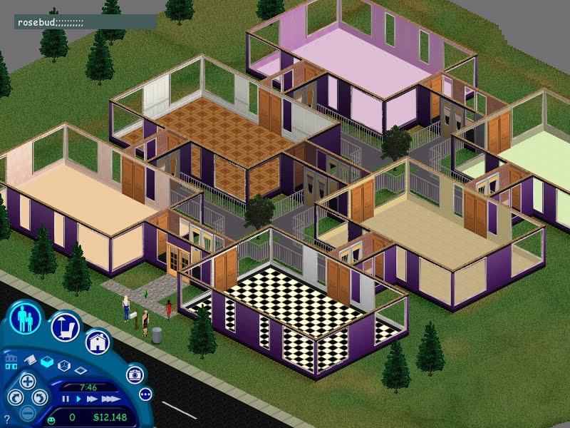 Casa de los sims casa moderna 9 for Casa moderna 1 8