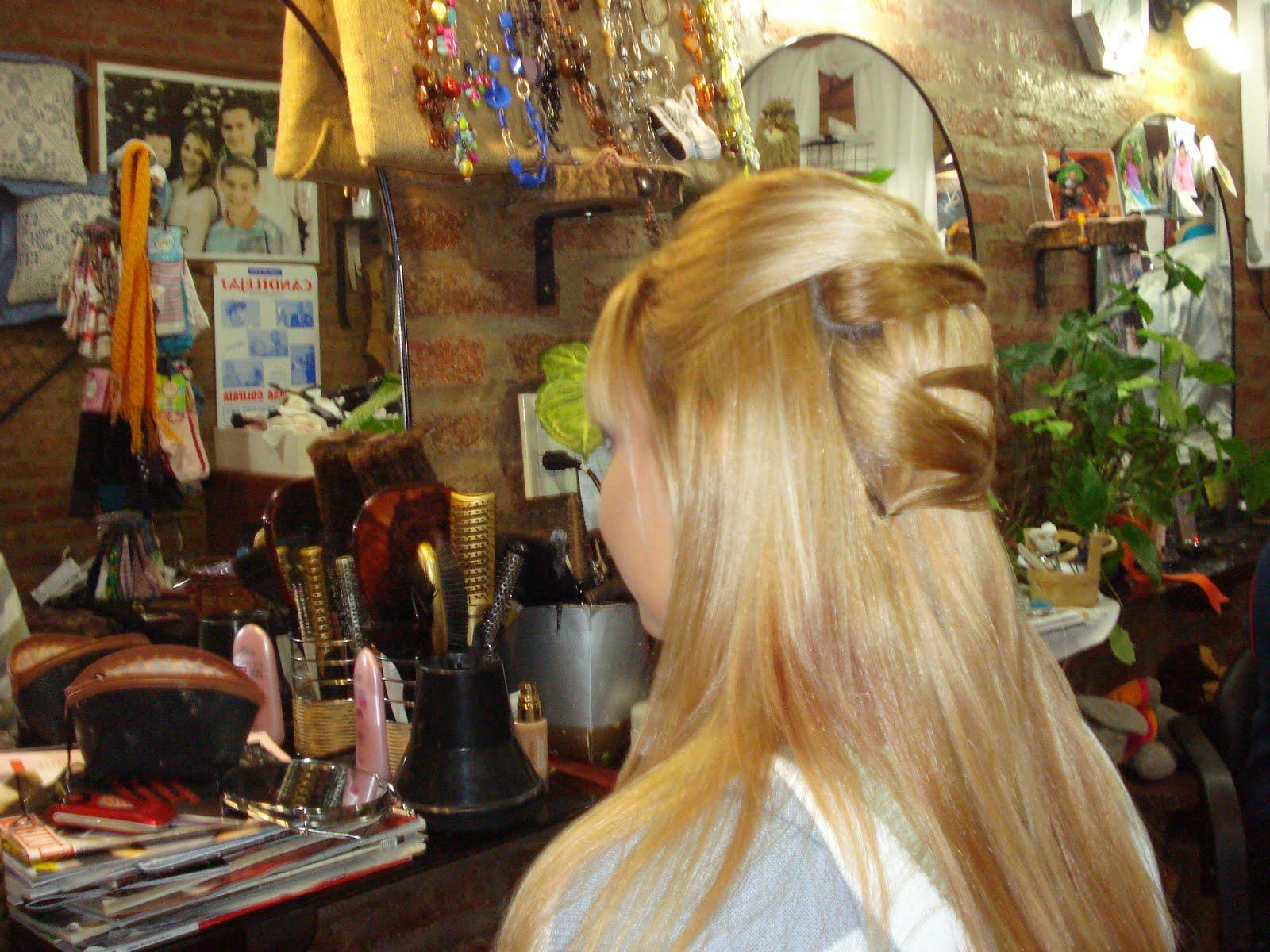 Peinados 15 años pelo lacio