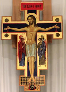 Jesus with phallic abs