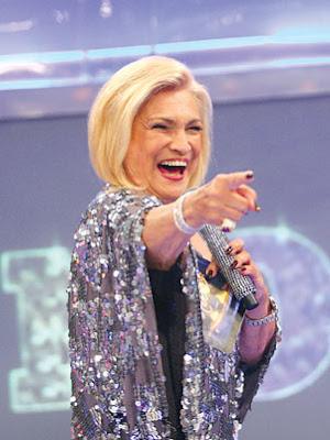 Hebe Camargo ganha camarim exclusivo na RedeTV