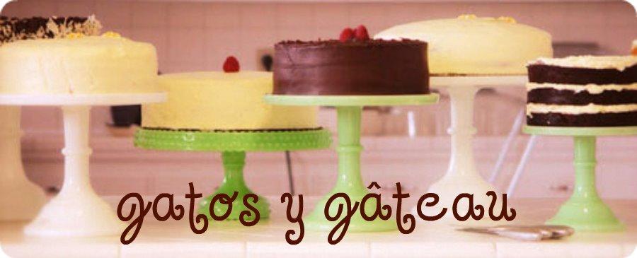 gatos y gâteau!