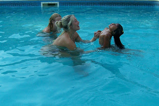 swimming skinny dipping Girls