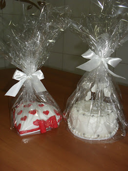 mini bolo embalado