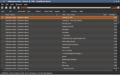 Dead Beef Music Player Ubuntu