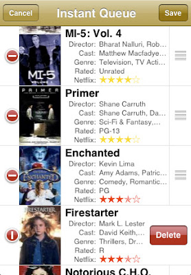 PocketFlicks iPhone App
