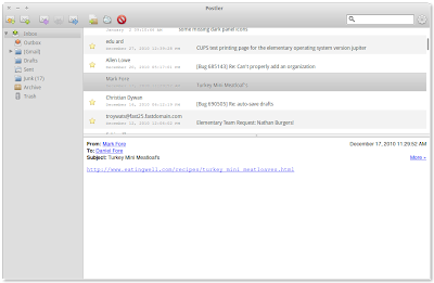 Postler email client