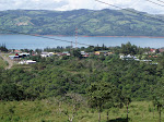 The town of Nuevo Arenal