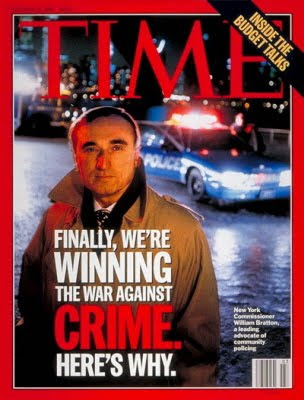 William Bratton / TIME Cover: January 15, 1996, Art Poster by TIME Magazine
