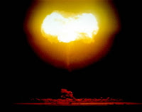 DOPPLER: Test:Doppler; Date:August 23 1957; Operation:Plumbbob; Site:Nevada Test Site (NTS), Area 7; Detonation:Baloon, altitude - 1500ft; Yield:11kt; Type:Fission