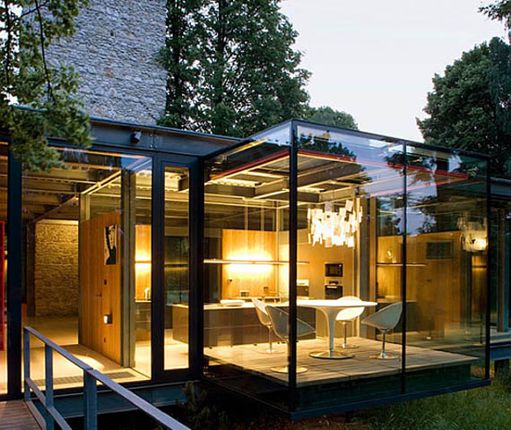 Modern Glass Home